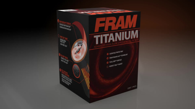 FRAM Titanium Oil Filter FRAM Titanium oil filter product video