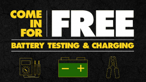 Free Battery Testing at Advance Auto Parts 1 in 4 batteries in on the verge of failure. Stop by Advance Auto Parts to take advantage of free battery testing.  If you need your battery replaced, purchase at Advance and we will install it for free.