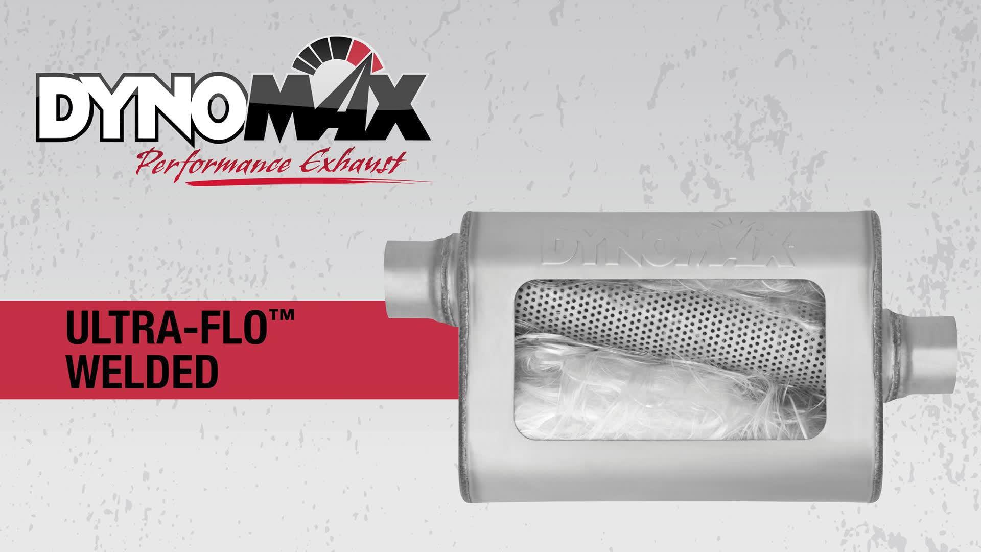Dynomax Ultra Flo Welded Muffler Sound Dynomax Ultra Flo Welded Muffler Sound on a 2010 Chevy Camaro