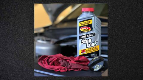 One Seal Stop Leak Bar's Leaks One Seal multipurpose stop leak effectively seals all minor engine oil, transmission and power steering system leaks. It's specifically designed to stop seal and gasket leaks caused by normal wear and age.