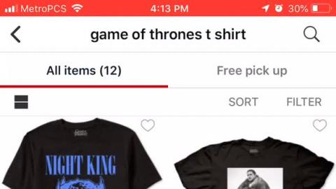 1b7f026e58b Game of Thrones Graphic Shirt - Macys Style Crew