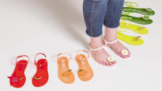 Katy Perry Jelly Sandals - Macys Style Crew