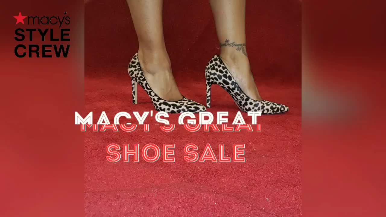 The Great Shoe Sale - Macys Style Crew