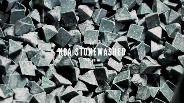 The Koa Stonewashed Process