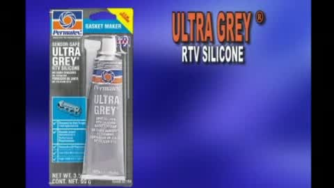 Ultra Grey High Torque RTV Silicone Gasket Maker