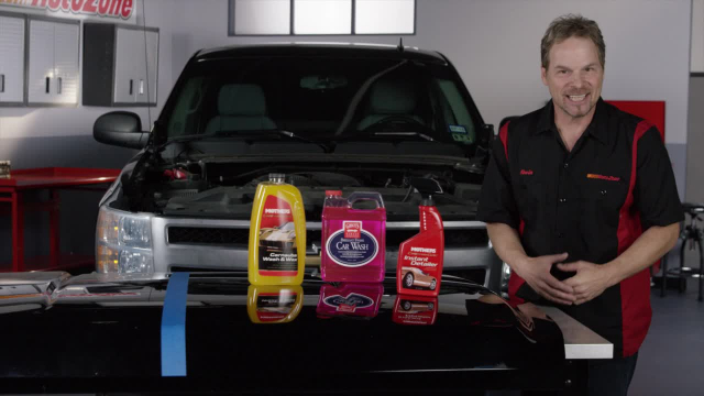 Maintaining Your Vehicle's Finish - Step 4 Maintain