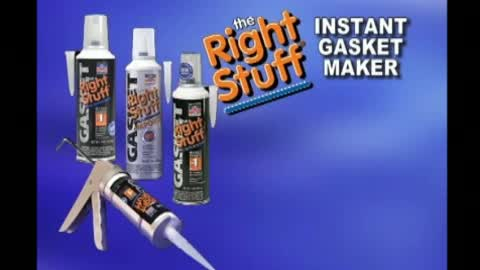 Make Gaskets Fast with the Right Stuff