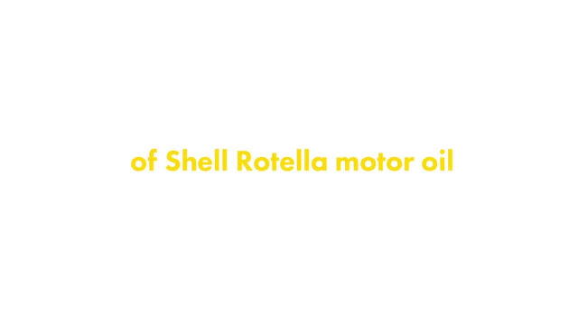 Shell Rotella Gas Truck & SUV Engine Oil