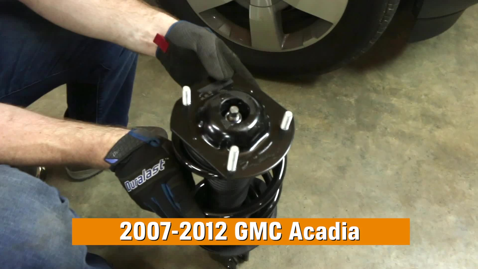 How to Replace Shocks & Struts in a GMC Acadia