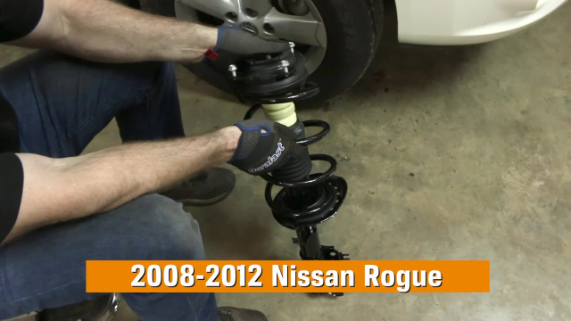 How to Replace Shocks and Struts in a Nissan Rogue 2008-2012