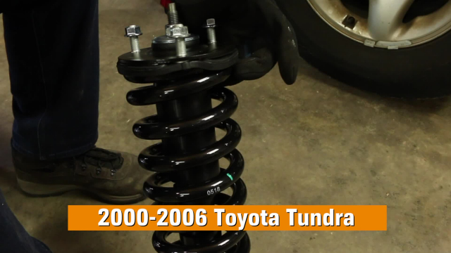 How to Replace Shocks and Struts in a Toyota Tundra 2000 - 2006