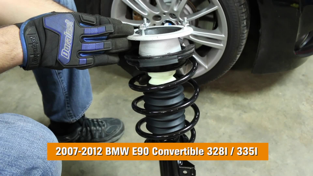 How To Replace Shocks and Struts in a BMW E90 Convertible 328I-335I 2007-2012