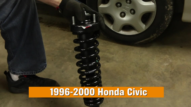 How to Replace Struts in a Honda Civic – 1996-2000