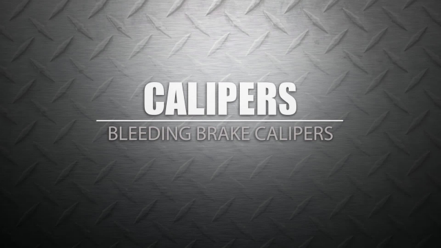 Bleeding Brake Calipers