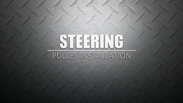 Power Steering Pump Pulley Installation