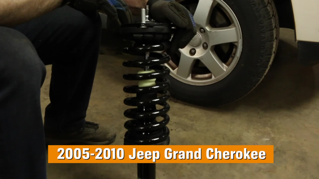 How To Replace Shocks & Struts on a 2005-2010 2WD & 4WD Jeep Grand Cherokee