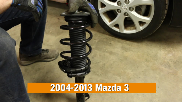 How To Replace Shocks & Struts on a 2004-2013 Mazda 3