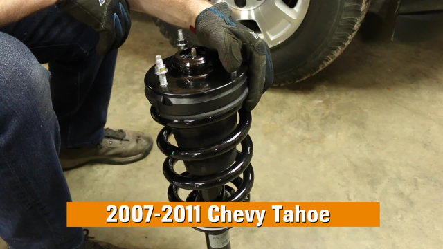 How to Replace Shocks & Struts on a Chevy Tahoe