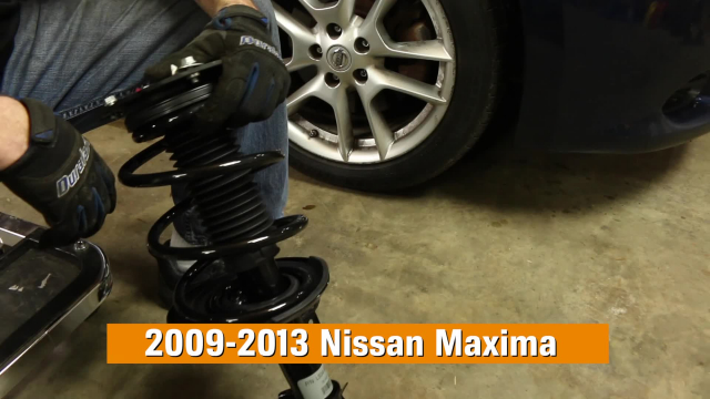 How to Replace Shocks & Struts on a Nissan Maxima