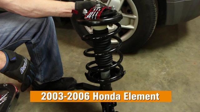 How To Replace Shocks & Struts on a 2003-2006 Honda Element