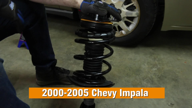 How To Replace Shocks & Struts on a 2000-2005 Chevy Impala