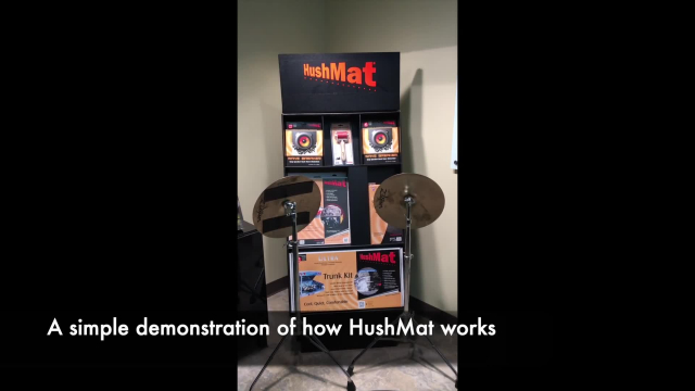 Hushmat Insulation and Sound Deadening in Action