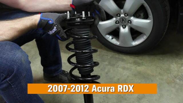 How to Replace Shocks & Struts in a Acura RDX