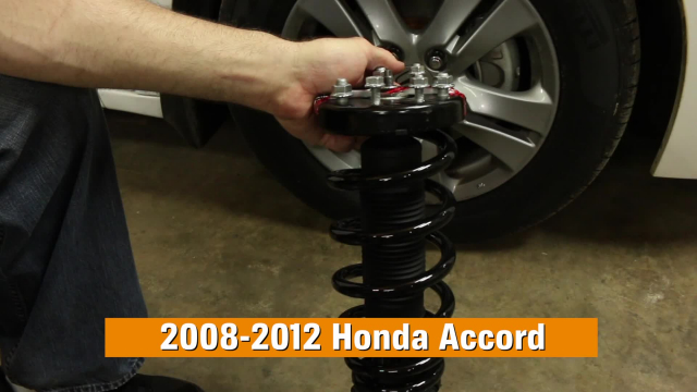 How to Replace Shocks & Struts in a Honda Accord