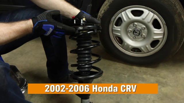 How to Replace Shocks & Struts in a Honda CRV