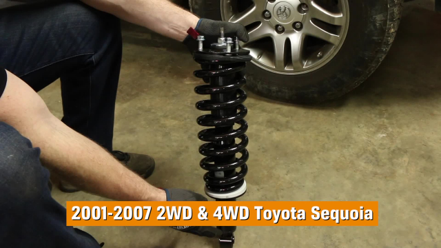 How to Replace Shocks & Struts in a Toyota Sequoia