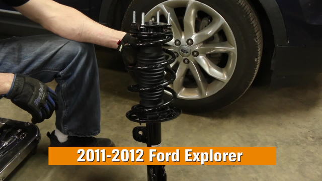 How to Replace Shocks & Struts in a Ford Explorer