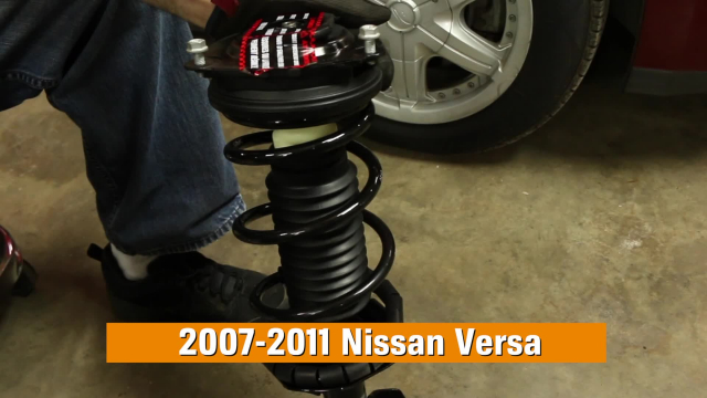 How to Replace Shocks & Struts in a Nissan Versa