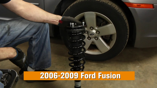 How to Replace Shocks & Struts in a Ford Fusion