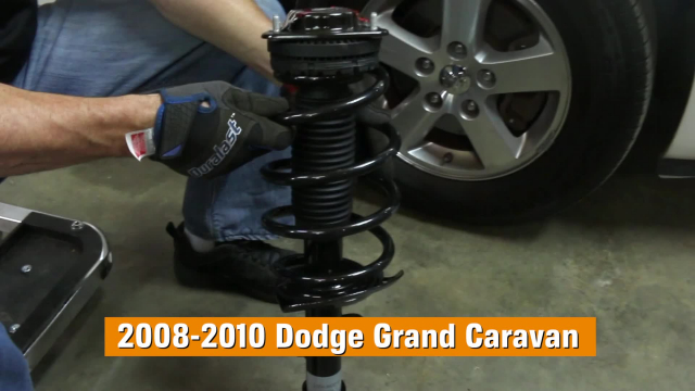 How to Replace Shocks and Struts in a Dodge Grand Caravan– 2008 - 2010