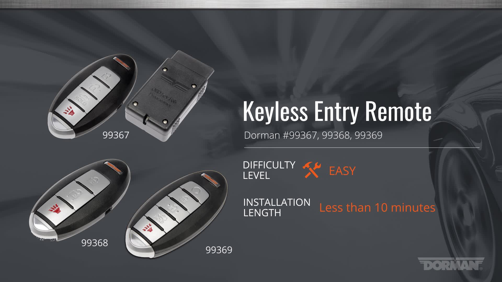 Nissan Keyless Entry Programming for Altima and Pathfinder