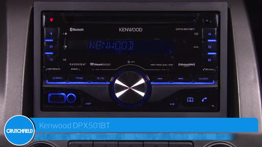 Kenwood DPX501BT CD receiver at Crutchfield on