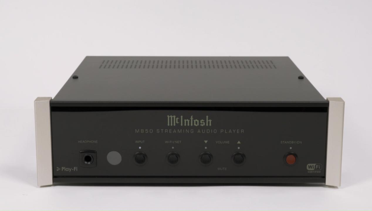 McIntosh RS100 Wireless loudspeaker system with built-in Wi-Fi® and