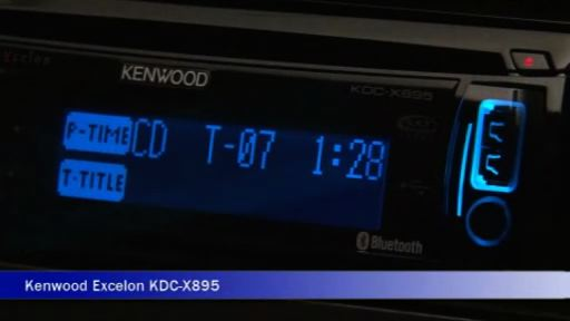 Kenwood Excelon KDC-X895 CD receiver at Crutchfield on