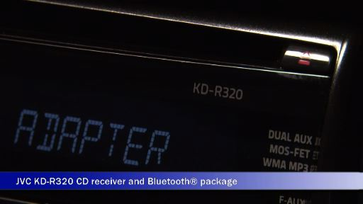 Video: Demo of the JVC KDR-320 CD Receiver and Bluetooth Package