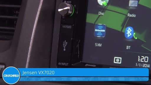 Jensen VX7020 Navigation receiver at Crutchfield