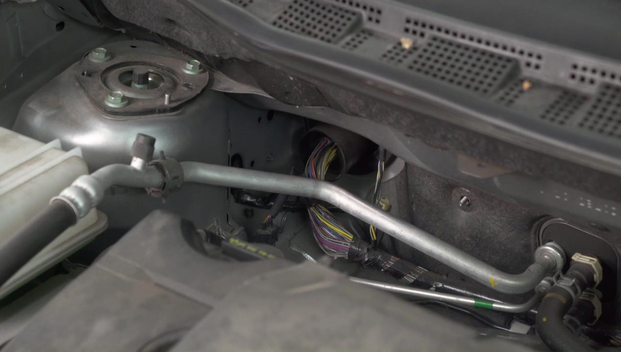 How To Get Through Your Cars Firewall Deciphering The Tricky Part 04 Toyota Avalon Wiring Of Amplifier Installation