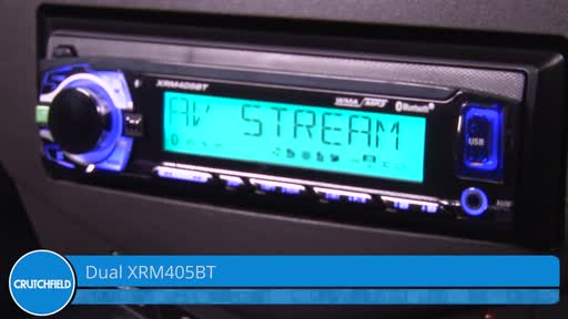 Dual XRM405BT Digital media receiver (does not play CDs) at