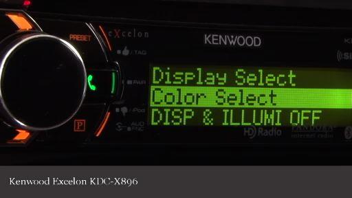 Kenwood Excelon KDC-X896 CD receiver at Crutchfield.com on