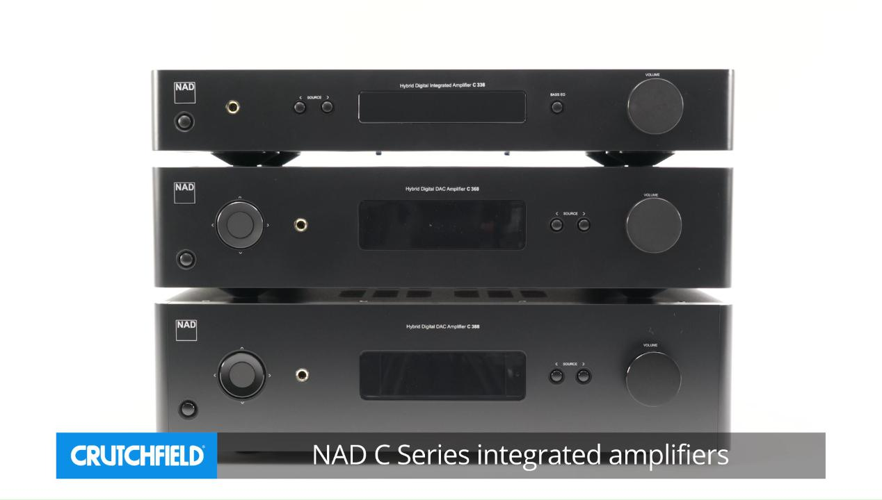 NAD C 388 Stereo integrated amplifier with built-in DAC and