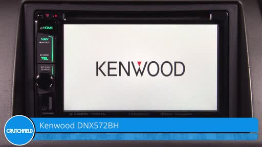 Kenwood DNX572BH Navigation receiver at Crutchfield on