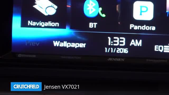 Jensen VX7021 Navigation receiver at Crutchfield.com on