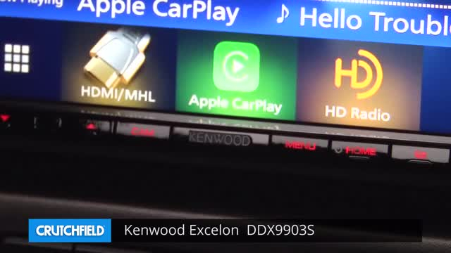 Kenwood Excelon DDX9903S DVD receiver at Crutchfield