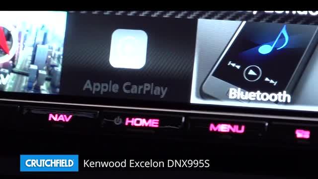 Kenwood Excelon DNX995S Navigation receiver at Crutchfield