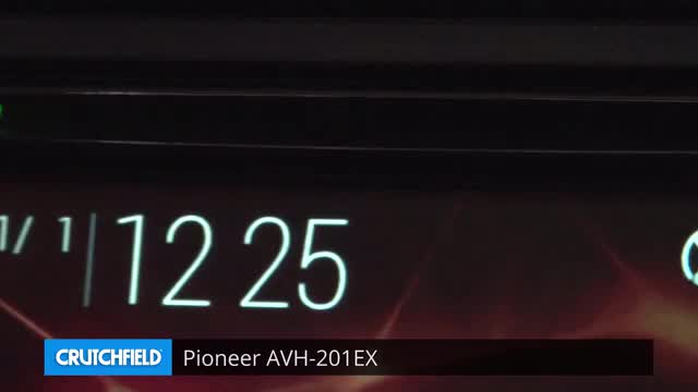 Pioneer Avh 201ex Dvd Receiver At Crutchfield