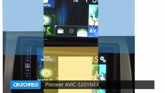 Pioneer AVIC-5201NEX Navigation receiver at Crutchfield